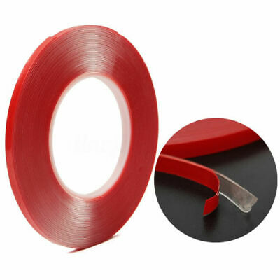 10M VHB 7302 Double-sided Clear Transparent Acrylic Gel Foam Adhesive Tape 6mm
