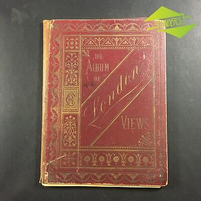 """c.1890 LATE VICTORIAN CHARLES REYNOLDS & CO """"AN ALBUM OF LONDON VIEWS"""" FOLD OUT"""