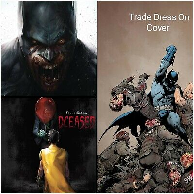 Dceased #1 Variant Batman 5/1/19 Horror It 3-Pack Dc Comics Presale 1St Print