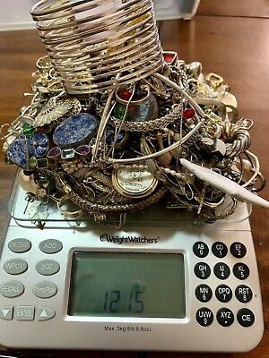 1,215 Grams Of Scrap Sterling Silver