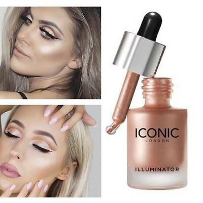 1Pc Highlighter Liquid Glow Makeup Highlighter Cream Concealer Shimmer Face Glow