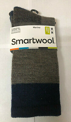 Smartwool Men's Hiker Street Medium Cushion Wool Crew Socks Taupe Heather New