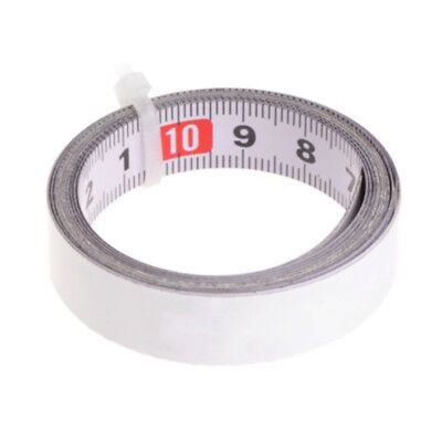 1 X Self Adhesive Vinyl Measuring Tape / Ruler Sticker Sticky Measure Tools Sale