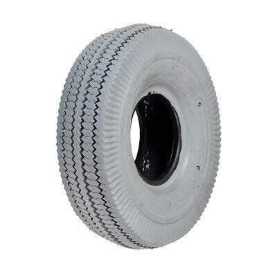 4.10/3.50-4 Solid Foam Filled Tire for Hoveround Teknique FWD Power Wheelchairs