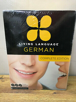 LIVING LANGUAGE GERMAN: COMPLETE EDITION- BEGINNER TO ADVANCED SET (Mixed Media)