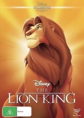The Lion King Dvd Disney New & Sealed- Free Postage! Region 4