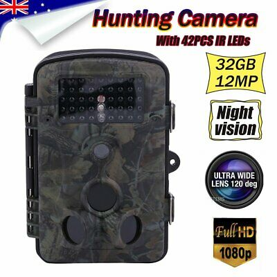 Hunting Camera Trail Security Farm System Cam Scout Night Vision No Spy Hidden H