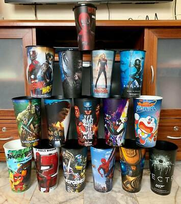 Movie Theater Exclusive Collector Cups FREE SHIPPING