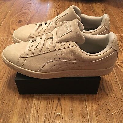 838fbf6d4ea7d6 Puma Suede Remaster Womens 361110-02 Birch Athletic Shoes Sneakers Wmns  Size 11