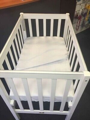 100% cotton compact cot sheet set, fitted & flat sheet for sunbury COMPACT cot