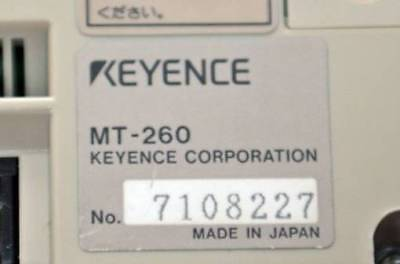 1PC Used Keyence HMI touch screen MT-260  #RS8