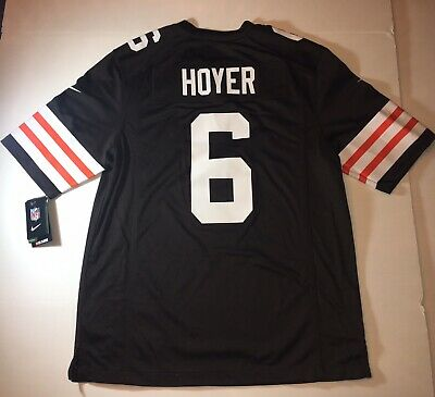 new  Nike Mens Medium Nfl Cleveland Browns  6 Brian Hoyer On Field Jersey 55eca936a