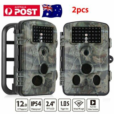 2ps Hunting Trail Camera Farm Security Cam Waterproof Night Vision No Spy #TG