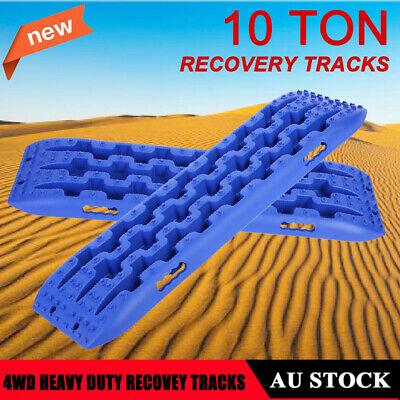 2X 10T Vehicle Recovery Tracks Sand Mud Snow Track Tire Ladder for Off Road HOT