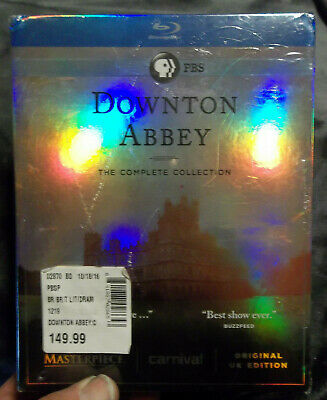 Downton Abbey: The Complete Collection (Blu-ray Disc 21-Disc Set) NEW Sealed