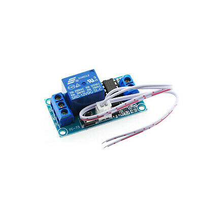 One Button Start and StopRelay Module DC - 12V  Self-locking Interface Boards