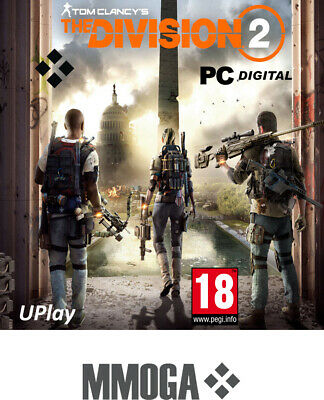 Tom Clancy's: The Division 2 Key PC Ubisoft Spiel Action Digital Code [DE/EU]18+