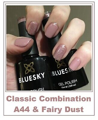Bluesky Gel A44 Fairy Dust Contrast Most Wanted Spring Summer UV LED Free Post