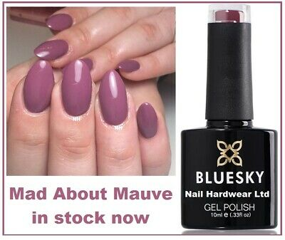 Bluesky Gel Mad About Mauve Best Seller Most Wanted Spring Summer UV LED Free PP