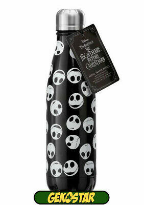Nightmare Before Christmas Metal Water Bottle