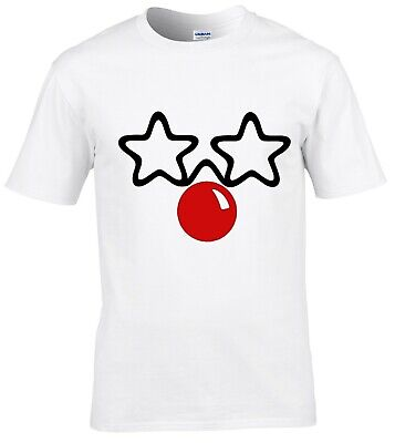 RED NOSE DAY 2019 Comic Relief FUNNY FACE CHILD'S / TEEN'S T SHIRT LIMITED STOCK
