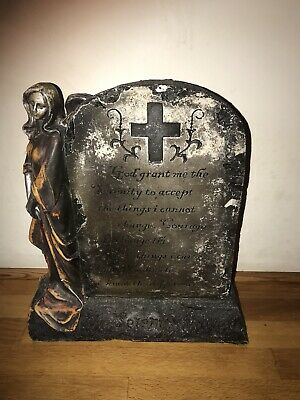 latex mould for making This large Serenity Tombstone