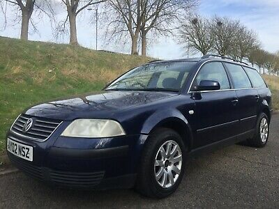 (02) 2002 Volkswagen Passat 1.9 TDi 130 BHP SE 5 Door Estate Manual Diesel