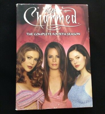 Charmed The Complete Fourth Season 4 Four DVD Video Box Set