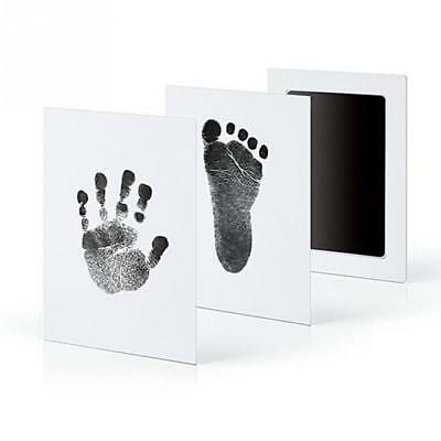 Baby Paw Print Pad Foot Photo Frame Touch Ink Pad Baby Items Souvenir as Gift