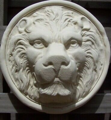 latex mould for making this Rustic Lions Head Plaque