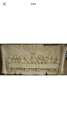 latex mould for Making This Lovely Last Supper Plaque