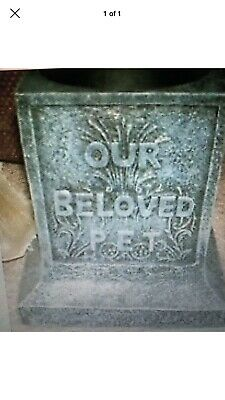 latex mould for making Lovely Pet Memorial