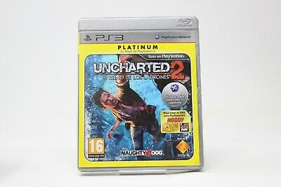 PLATINUM UNCHARTED 2 EL REINO DE LOS LADRONES  PLAY STATION 3 PS3 inv-2574