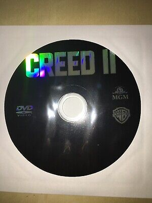 NEW Authentic US WB Creed II (2019) DVD DISC ONLY Michael B Jordan Stallone FREE