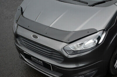 Bonnet Trim Protector Guard Wind Deflector To Fit Ford Transit Courier (2014+)