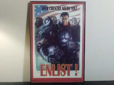 Poster New Enlist Maxi Size 36 x 24 Inch Fallout Your Country Needs You