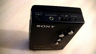 Vintage Sony Walkman Dd Personal Cassette Player Wm-Dd11