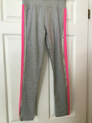 NWT Girls Justice Full Length Gray Leggings