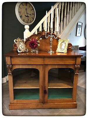 Antique Early-Mid Victorian Mahogany Chiffonier/Sideboard