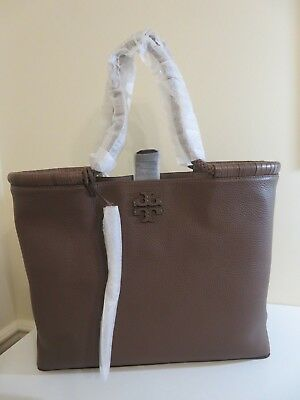 ffcd80fdf8d9 Tory Burch Maple Leather Taylor Braided Handle Tote Bag Purse New 52699