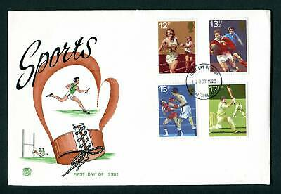 1980 GB STUART FDC. Sport Centenaries. Folkestone, Kent First Day Cover