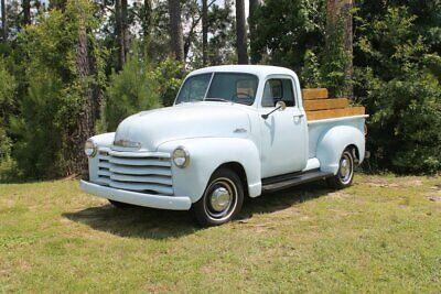 1953 Other Pickups -- 1953 Chevrolet 3100  34,500 Miles Powder Blue Pickup Truck 235 I6 3 Speed Manual