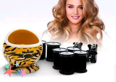 Mark Hill Rock Roller Pod Hair Rollers Ceramic Technology Heated Hair Rollers