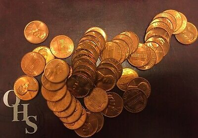 Roll Of Uncirculated 1959 P Lincoln Memorial Cents Pennies