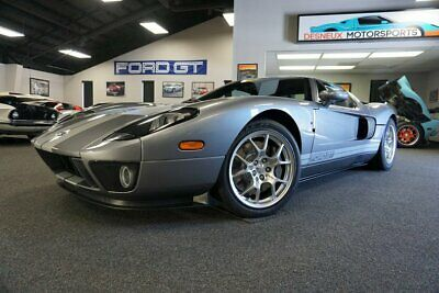 2006 Ford Ford GT Ford GT GT40 2006 Ford GT Tungsten ONLY 86 MILES!! STILL HAS FACTORY ROTATION NUMBERS!