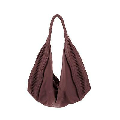 Clever Carriage Company St. Tropez Handcrafted Leather Hobo