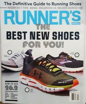 Runner's World 2019 Issue 2 The Best New Shoes For You FREE SHIPPING CB