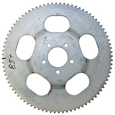 """85T (tooth) #35 Chain Sprocket 2.6"""" Bolt Circle Go-Kart Off Road Cart Parts Gear"""