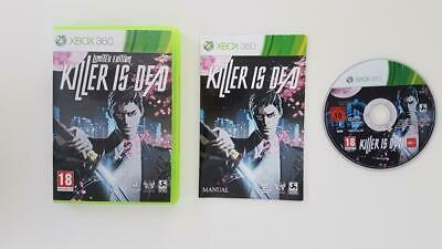 Killer is Dead Xbox 360 Used SAME DAY FREE SHIPPING