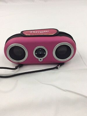 iHome Ih13 Portable Protective Speaker Case for iPod (pink) Mb